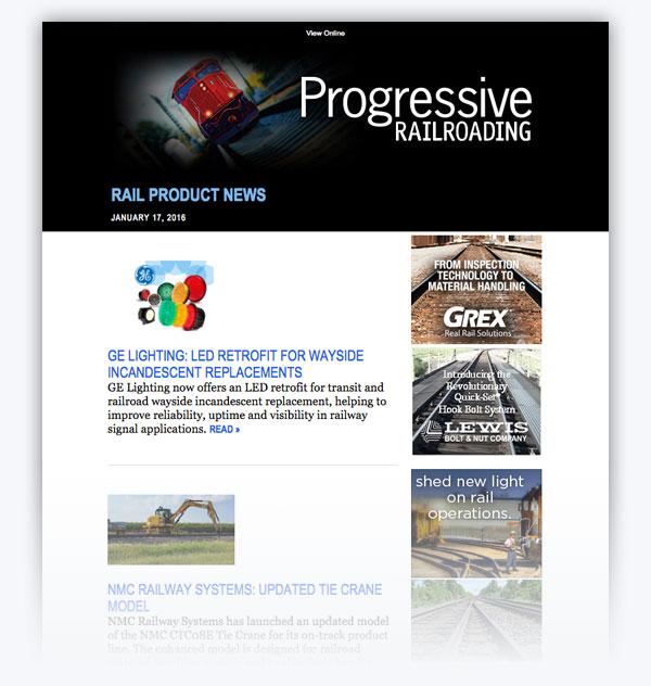 Progressive Railroading Magazine 2017 Media Kit